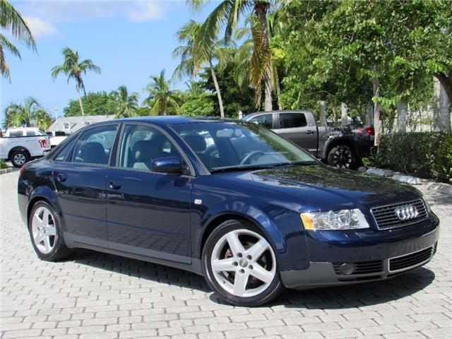 2004 Audi A4 1 8t 53 525 Miles Moro Blue Pearl 4 Cylinder Turbo 8l Auto