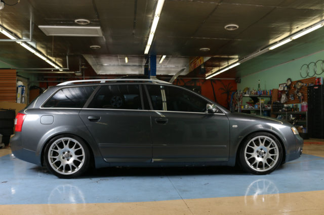2004 Audi S4 Avant Wagon 6 speed  Over $20k in service +