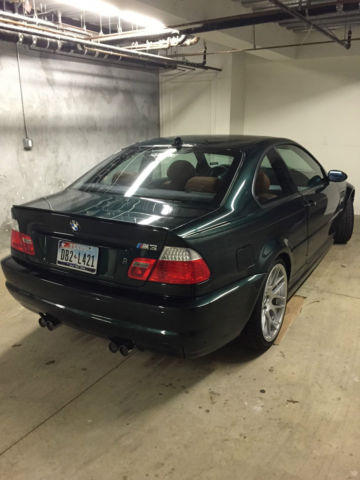 2004 Bmw E46 M3 Oxford Green Csl Wheels 6 Spd Manual