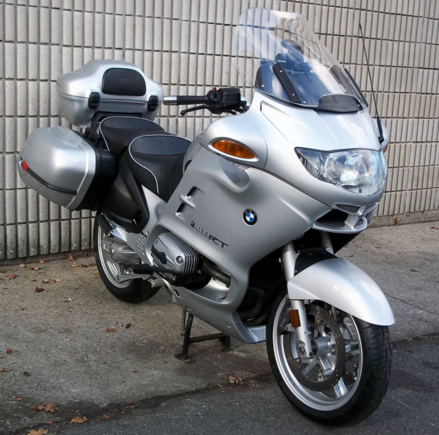 2004 Bmw R1150rt Abs Heated Grips Xm Radio Gps Fresh