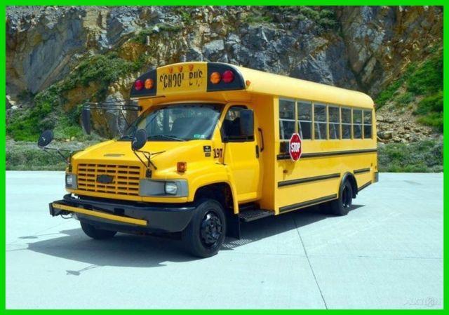 2004 C5500 Duramax Diesel 36-Passenger School Bus - NO RESERVE