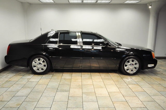 2004 Cadillac Deville Dts Black Black Low Miles Warranty Available