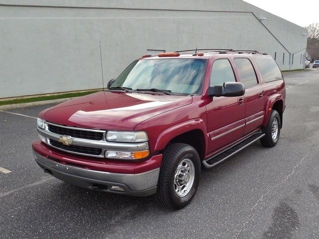 2004 chevrolet suburban 2500 lt 4x4 quadrasteer low miles. Black Bedroom Furniture Sets. Home Design Ideas
