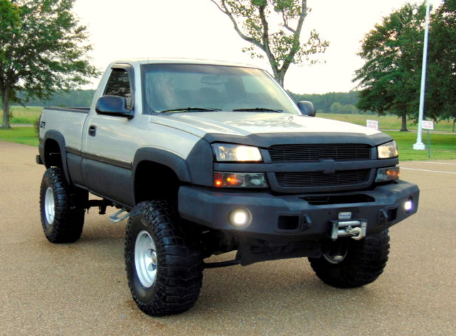 "2004 CHEVY 4X4 Z71 5.3L V8 9"" SUSP LIFTED HAMMERHEAD ..."