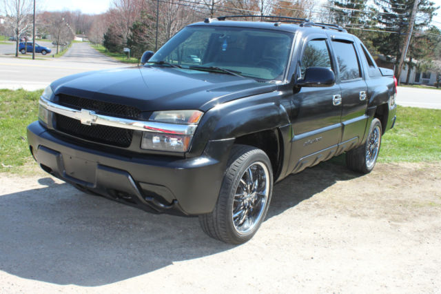 2004 chevy avalanche ls z71 package 4x4 one owner 22 inch rims 76k miles. Black Bedroom Furniture Sets. Home Design Ideas