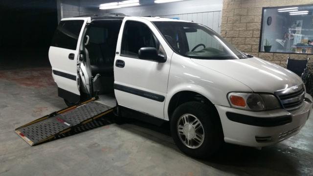2004 Chevy Venture Wheelchair Handicap Van Orange County Caliif