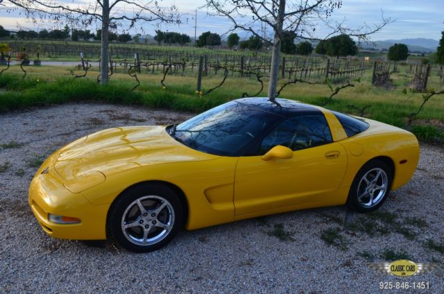 2004 corvette c5 low mi ca no excuses car no mods millenium yellow. Black Bedroom Furniture Sets. Home Design Ideas