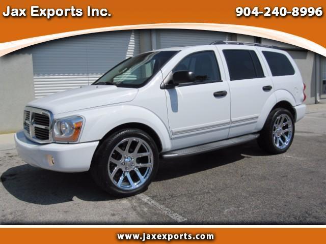 2004 dodge durango slt 5 7 l hemi leather new 22 srt 10 wheels tires magnaflow vehicles markets com