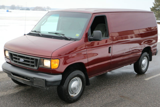 2004 Ford Econoline E350 Cargo Van For Sale
