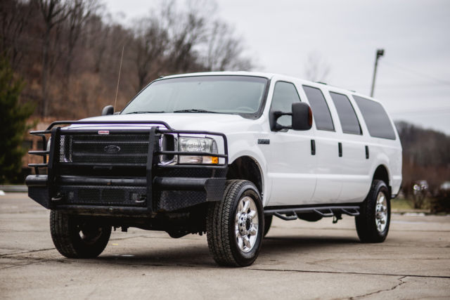 2004 FORD EXCURSION 6 0 4x4 LIMITED 6 DOOR CONVERSION