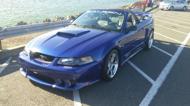 2004 Ford Mustang Saleen Speedster Convertible 256 Sonic Blue S281
