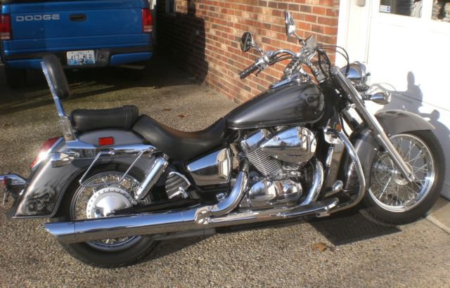 2004 Honda Shadow 750 Aero Show Quality Paint With Lots Of Chrome