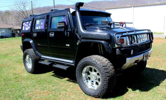 2004 Hummer H2 Base Sport Utility 4-Door 6.0L