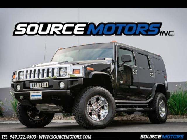 2004 Hummer H2 Suv Chrome Package Leather Interior Brush Guard