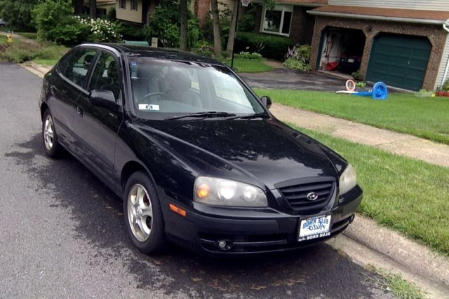 2004 hyundai elantra black 5 door sedan gt bad engine no reserve vehicles markets com