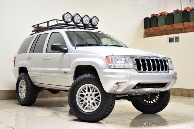 2004 jeep grand cherokee lifted roof rack big tires very clean. Black Bedroom Furniture Sets. Home Design Ideas