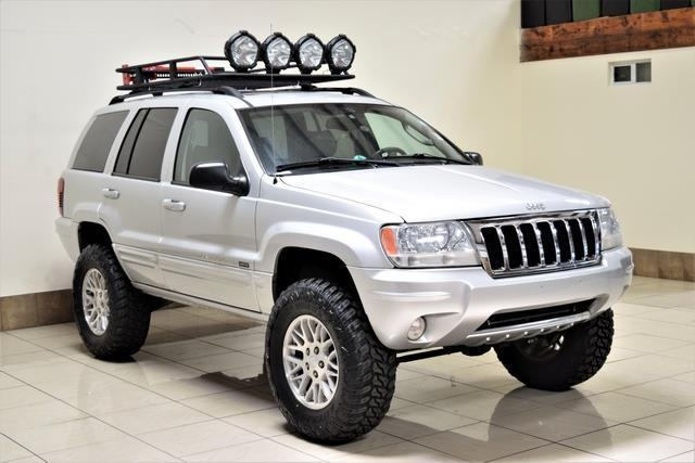 2004 Jeep Grand Cherokee Lifted Roof Rack Big Tires Very Clean