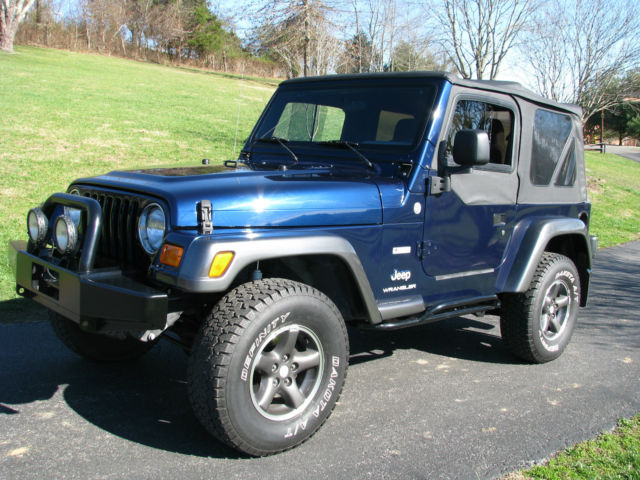 2004 Jeep Tj Wrangler Columbia Edition