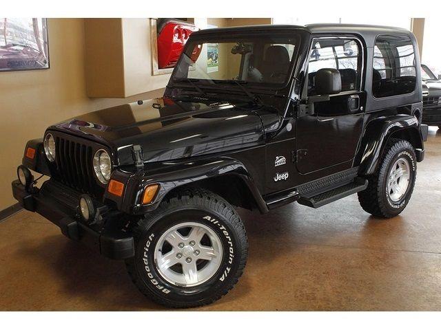 2004 jeep wrangler sahara hard top 5 speed manual 2 door suv. Black Bedroom Furniture Sets. Home Design Ideas