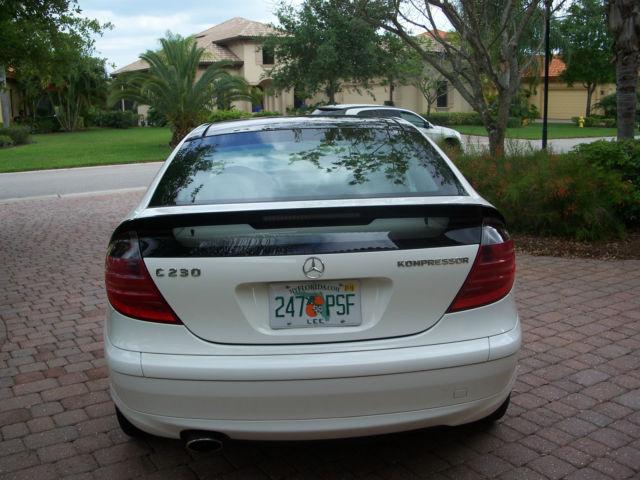 2004 Mercedes Benz C230 Kompressor Coupe 2 Door 1 8l