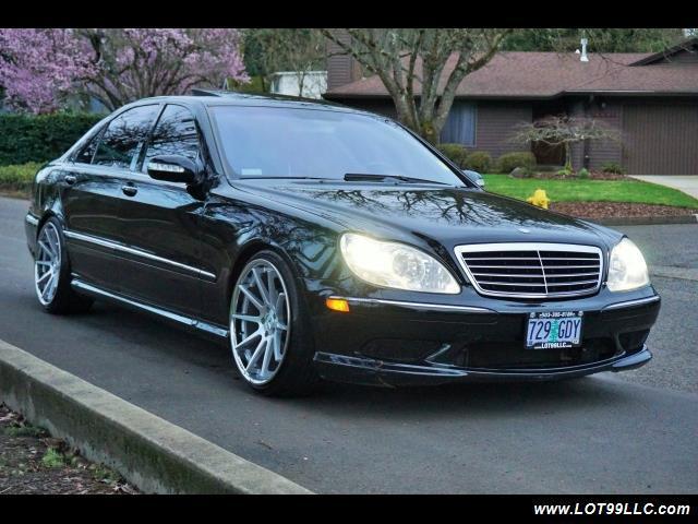 2004 Mercedes Benz S430 S500 Amg Pkg 20 Wheels Automatic