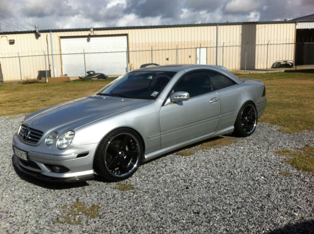 2004 mercedes cl500 cl 500 w215 custom 20 rims tires. Black Bedroom Furniture Sets. Home Design Ideas