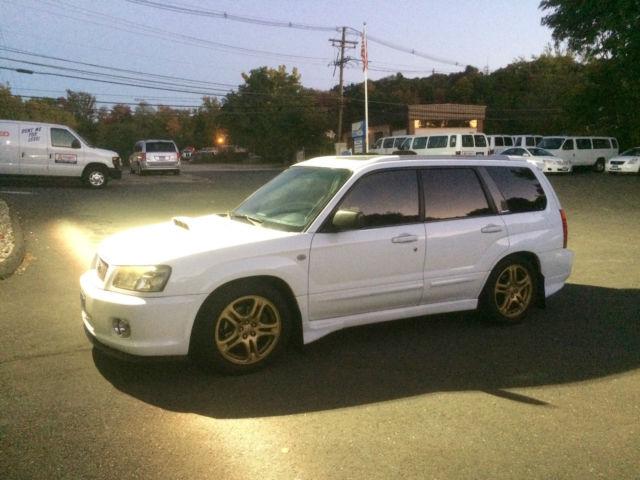 2004 Subaru Forester Xt 4 Door Wagon Aspen White Jdm Cross Sports