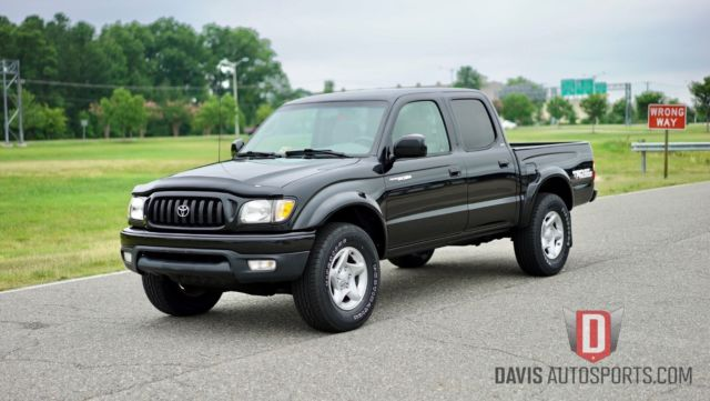 2004 toyota tacoma 4x4 trd off road crew cab new tires 1 owner clean. Black Bedroom Furniture Sets. Home Design Ideas