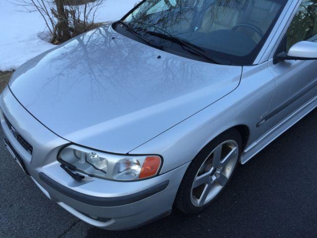 2004 Volvo S60 R Sedan, Silver, 2.5L, Turbocharged, Custom