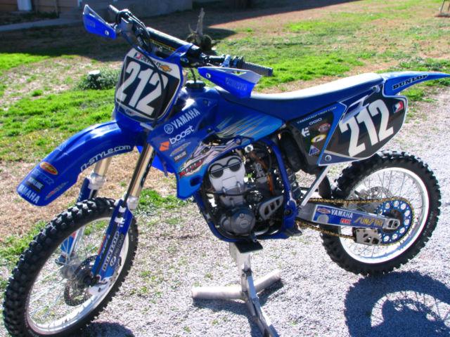 2004 yamaha yzf 250 yamaha of troy racing team mxr dirt bike for Yamaha of troy