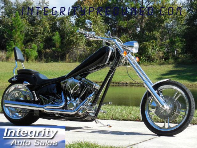2005 American Iron Horse Texas Chopper Only 1200 Actual Miles!!!!
