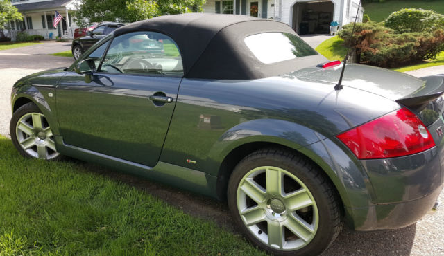 2005 Audi Tt Quattro 32l 6 Cyl Convertible Automatic With Tiptronic