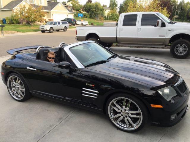 2005 black on black Chrysler crossfire SRT 6 convertible