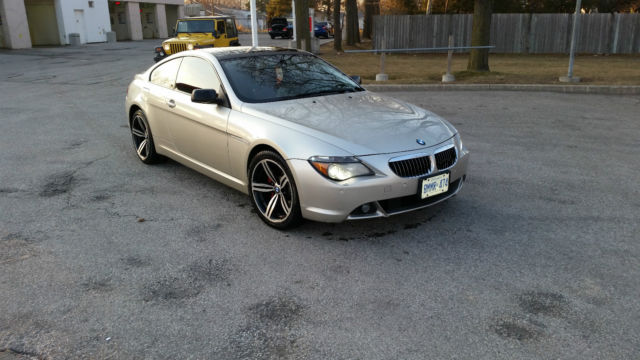 2005 BMW 645Ci SMG Transmission 44L Coupe Executive Sports Package