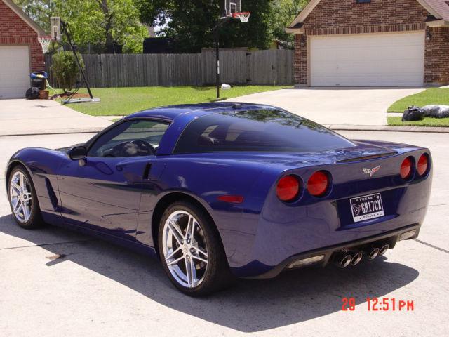 2005 Chevrolet C6 Corvette Lemans Blue
