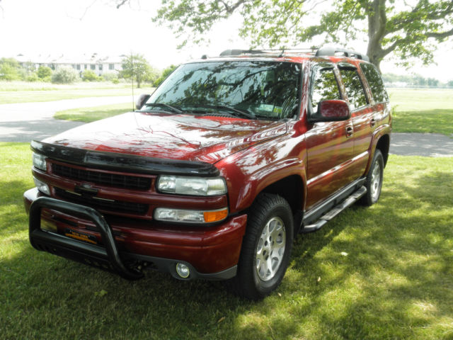 2005 Chevrolet Tahoe Z71 Ss Super Tuned 4x4 Red