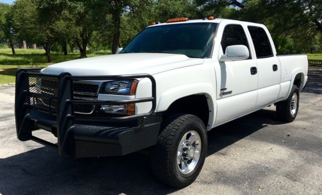 2005 chevy 2500hd lt 6 6l 4x4 crew cab duramax allison gooseneck clean. Black Bedroom Furniture Sets. Home Design Ideas