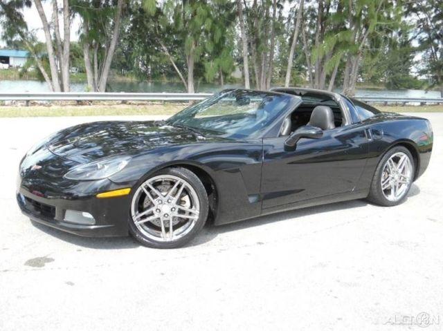 2005 chevy corvette c6 automatic targa top clean title. Black Bedroom Furniture Sets. Home Design Ideas