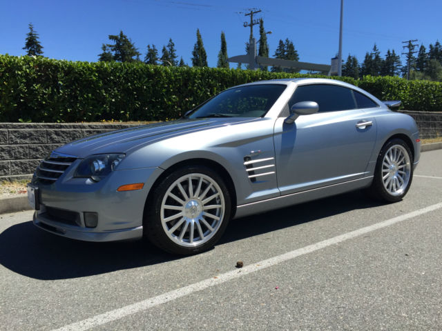 2005 Chrysler Crossfire Srt 6 Custom Modifies To 500 Hp