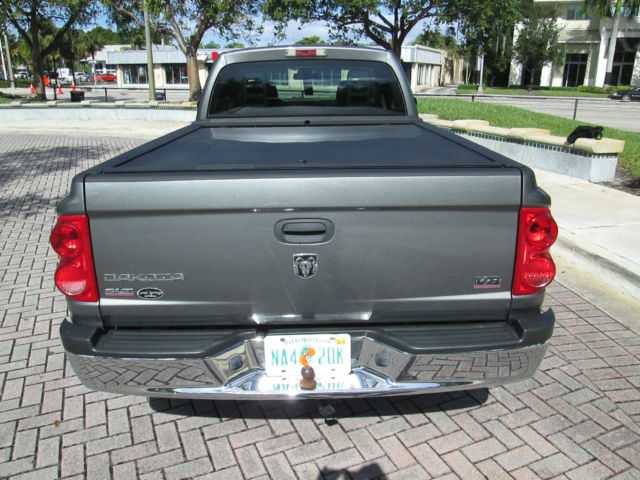 2005 dodge dakota slt x cab automatic 4 7 v8 motor clean. Black Bedroom Furniture Sets. Home Design Ideas