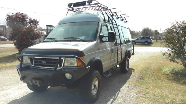 8f902152b3f580 2005 Ford E350 Super Duty 4x4 Van - Quigley Conversion Package