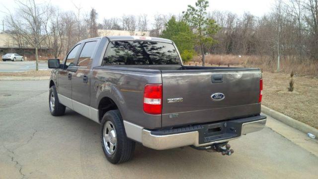 2005 ford f 150 xlt crew cab pickup 4 door 4 6l. Black Bedroom Furniture Sets. Home Design Ideas