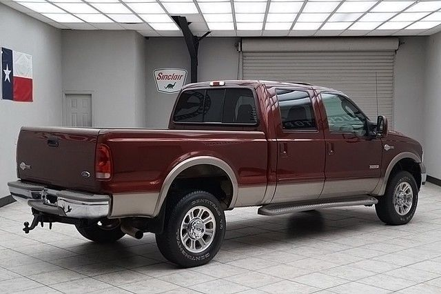 2005 Ford F350 Diesel 4x4 Srw King Ranch Sunroof Heated