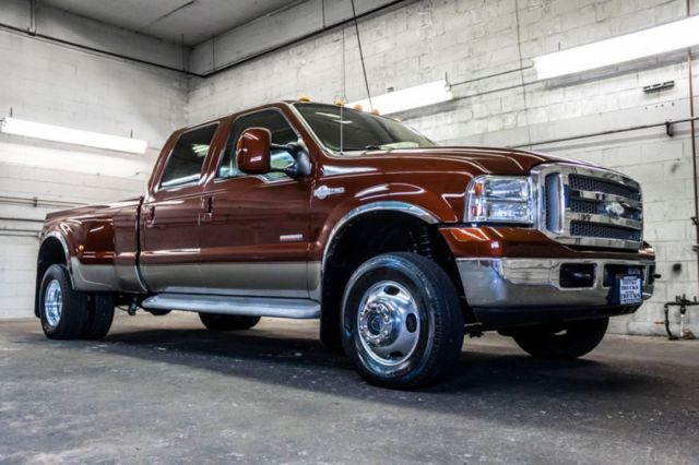 2005 ford f350 king ranch dually 4x4 powerstroke diesel super duty. Black Bedroom Furniture Sets. Home Design Ideas