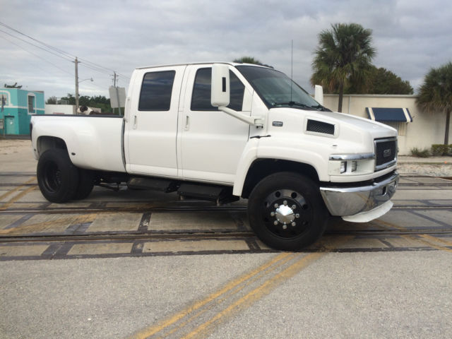 Chevy Kodiak Pickup >> 2005 GMC TOPKICK C5500 CHEVY KODIAK MONROE CONVERSION! FULL CUSTOM DURAMAX C4500