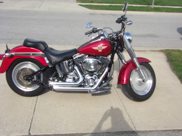 Harley Davidson Fatboy Th Anniversary Edition For Sale