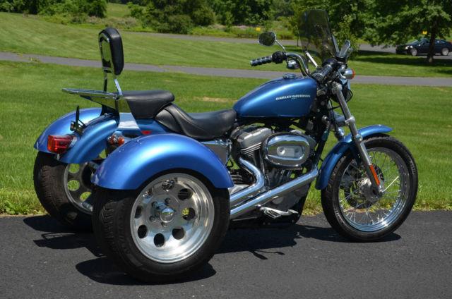 2005 Harley Sportster Xl 883 L Low Xl883l Frankenstein