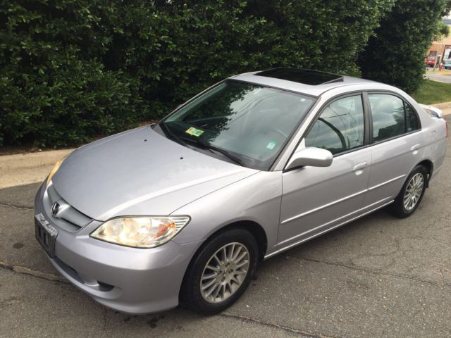 2005 Honda Civic Ex Sedan 1 7l Sunroof Excellent Condition Low Mileage Automatic