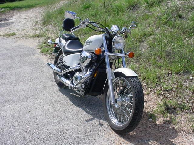 2005 Honda Vlx 600 Deluxe 21k Miles Gets 50 Mpg Excellent