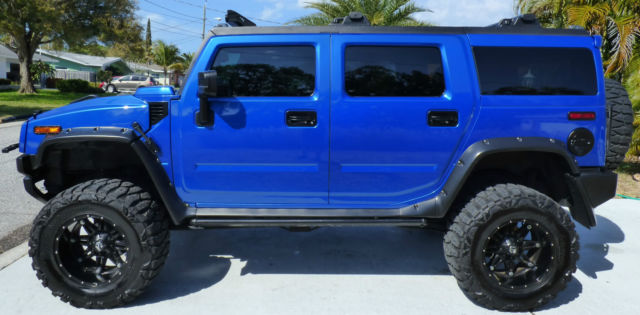 2005 Hummer H2 Custom Built By Blvd Customs One Of A Kind